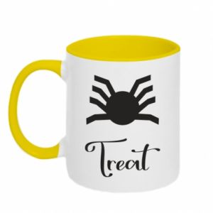 Two-toned mug Treat - PrintSalon