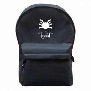 Backpack with front pocket Treat - PrintSalon
