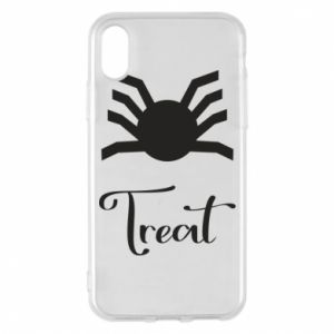 Phone case for iPhone X/Xs Treat - PrintSalon