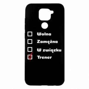 Etui na Xiaomi Redmi Note 9/Redmi 10X Trener, kobieta