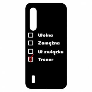 Etui na Xiaomi Mi9 Lite Trener, kobieta