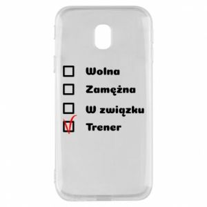 Phone case for Samsung J3 2017 Trainer, woman