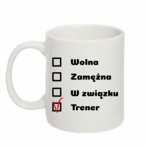 Mug 330ml Trainer, woman