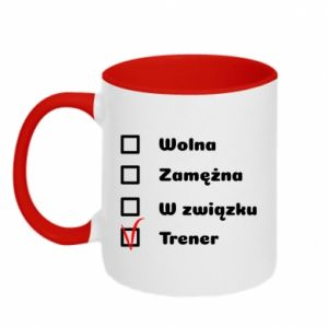 Two-toned mug Trainer, woman