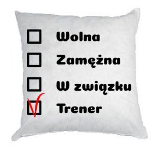 Poduszka Trener, kobieta