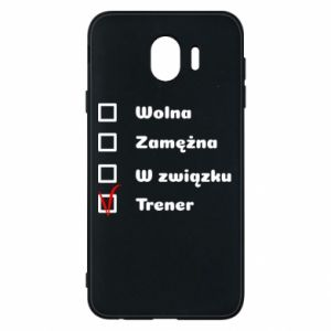 Phone case for Samsung J4 Trainer, woman