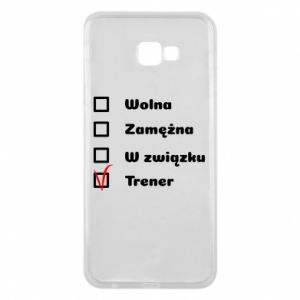 Phone case for Samsung J4 Plus 2018 Trainer, woman