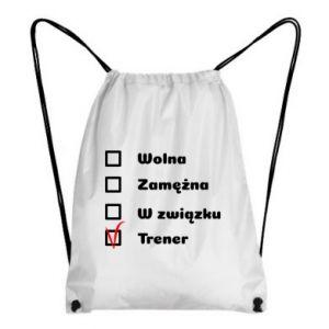 Plecak-worek Trener, kobieta