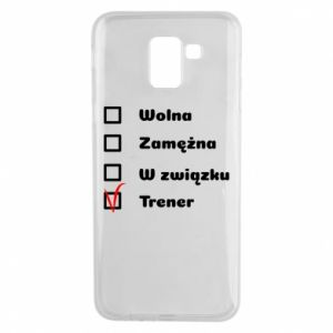 Phone case for Samsung J6 Trainer, woman