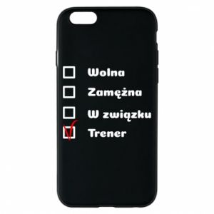 Phone case for iPhone 6/6S Trainer, woman - PrintSalon