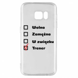 Phone case for Samsung S7 Trainer, woman