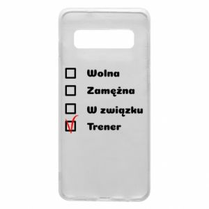 Phone case for Samsung S10 Trainer, woman