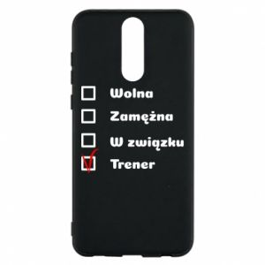 Phone case for Huawei Mate 10 Lite Trainer, woman - PrintSalon