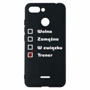 Etui na Xiaomi Redmi 6 Trener, kobieta