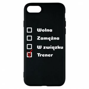 Phone case for iPhone 7 Trainer, woman