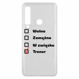 Phone case for Samsung A9 2018 Trainer, woman - PrintSalon