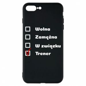 Phone case for iPhone 7 Plus Trainer, woman