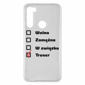 Etui na Xiaomi Redmi Note 8 Trener, kobieta