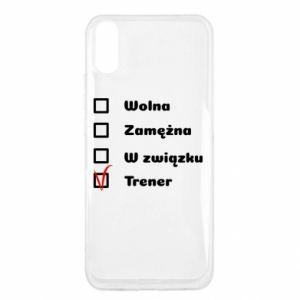 Etui na Xiaomi Redmi 9a Trener, kobieta