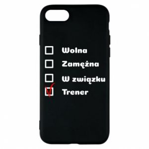 Phone case for iPhone 8 Trainer, woman