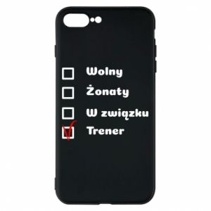 Phone case for iPhone 8 Plus Trainer - PrintSalon