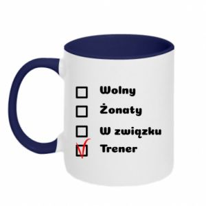 Two-toned mug Trainer