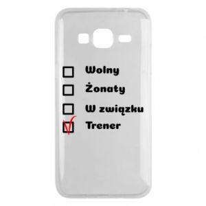 Etui na Samsung J3 2016 Trener