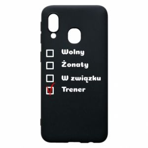 Phone case for Samsung A40 Trainer - PrintSalon