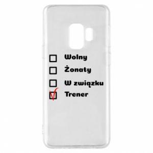 Phone case for Samsung S9 Trainer - PrintSalon
