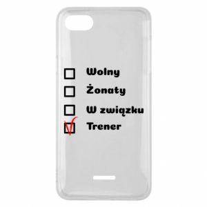Phone case for Xiaomi Redmi 6A Trainer - PrintSalon