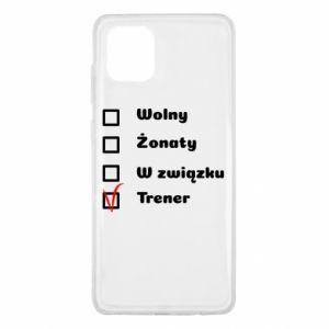 Etui na Samsung Note 10 Lite Trener