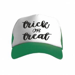 Czapka trucker dziecięca Trick or treat
