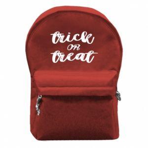 Plecak z przednią kieszenią Trick or treat