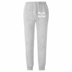 Męskie spodnie lekkie Trick or treat