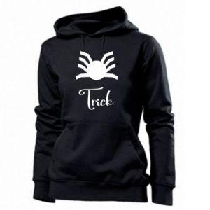 Women's hoodies Trick - PrintSalon