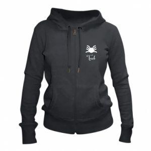 Women's zip up hoodies Trick - PrintSalon