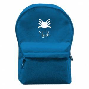 Plecak z przednią kieszenią Trick