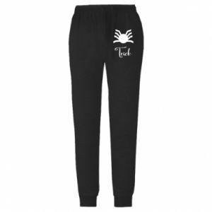 Męskie spodnie lekkie Trick - PrintSalon