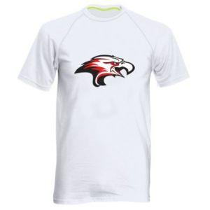 Męska koszulka sportowa Orzeł trójkolorowy