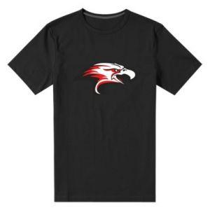 Męska premium koszulka Orzeł trójkolorowy