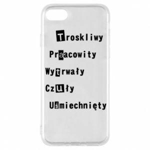 Etui na iPhone 7 Troskliwy, Praacowity