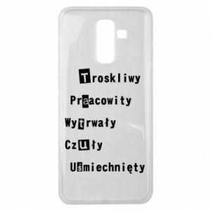 Etui na Samsung J8 2018 Troskliwy, Praacowity