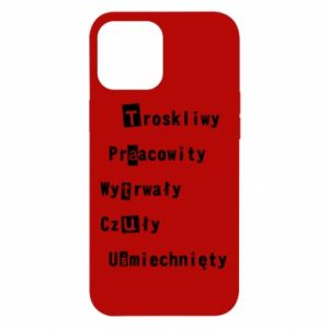 Etui na iPhone 12 Pro Max Troskliwy, Praacowity