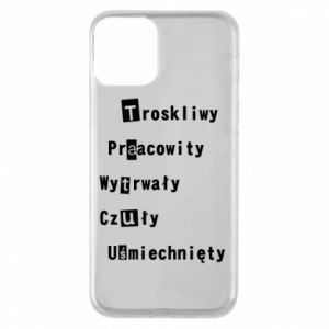 Phone case for iPhone 11 Caring, Hardworking - PrintSalon