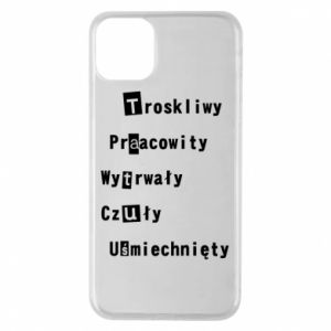Etui na iPhone 11 Pro Max Troskliwy, Praacowity