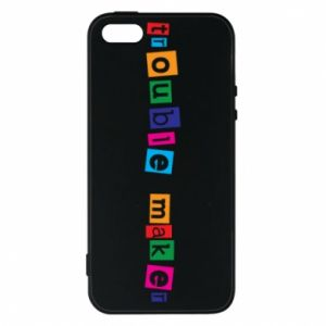 Etui na iPhone 5/5S/SE Trouble maker. Color