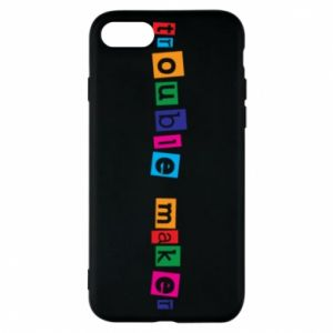 Etui na iPhone 7 Trouble maker. Color