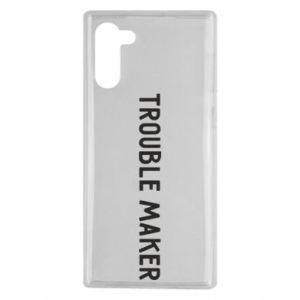 Etui na Samsung Note 10 Trouble maker