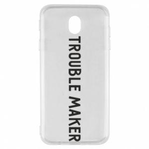 Etui na Samsung J7 2017 Trouble maker