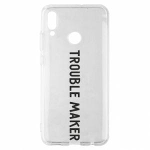 Etui na Huawei P Smart 2019 Trouble maker